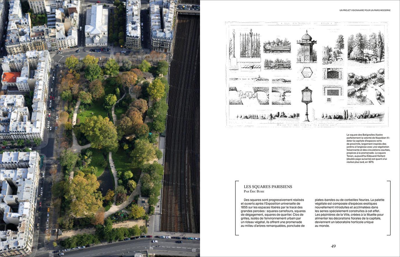 Les jardins parisiens d\'Alphand, | Le Chêne / E/P/A