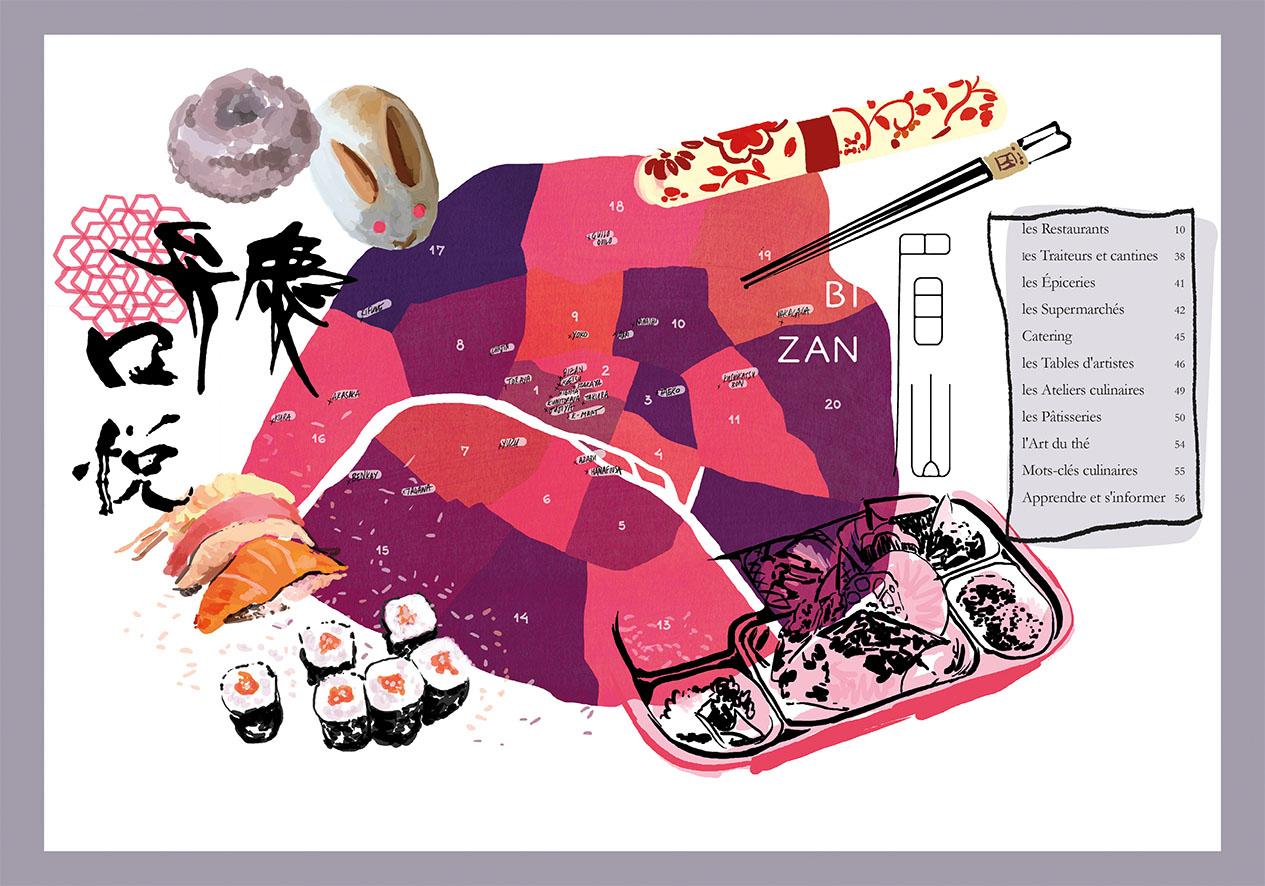 guide du japon à paris, les guides du chêne | le chêne / e/p/a