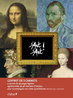 Coffret de 3 carnets de notes D'Art d'Art A5