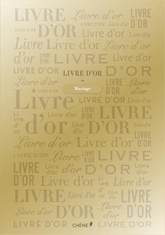 Livre d'or Doré grand