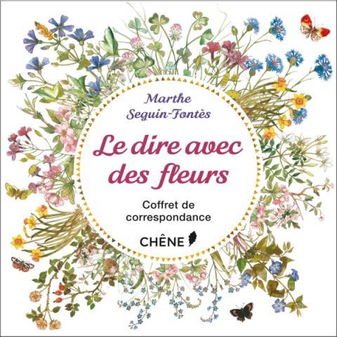 NED Coffret Le dire avec des fleurs : coffret de correspondance