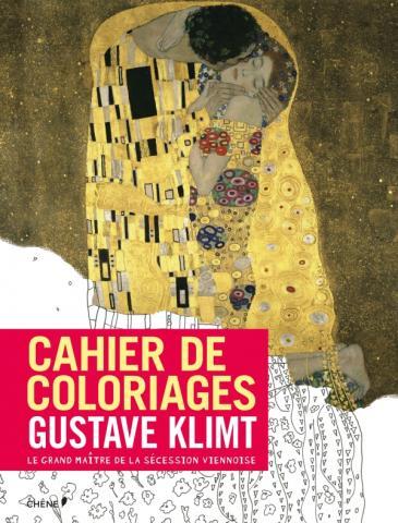Cahier de coloriages Klimt