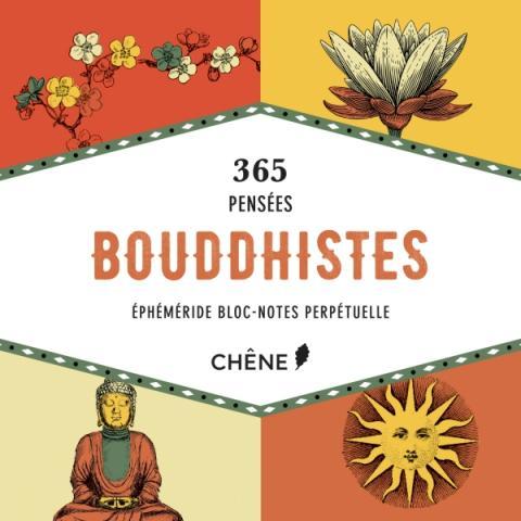 Bloc-notes perpétuel 365 pensées bouddhistes