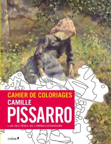 Cahier de coloriages Pissaro et la nature PF