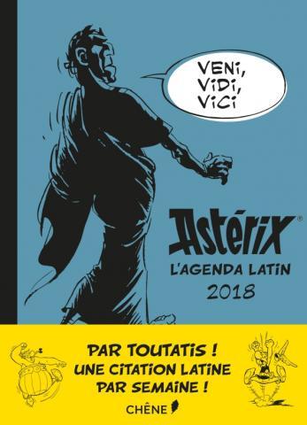 Astérix, l'agenda latin 2018
