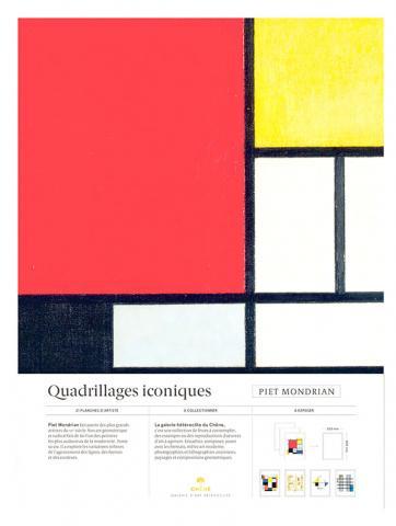 Piet Mondrian - Quadrillages iconiques