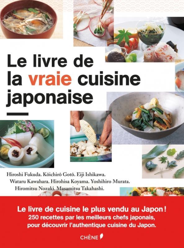 Le livre de la vraie cuisine japonaise