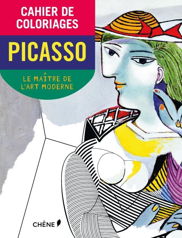 Cahier de coloriages Picasso