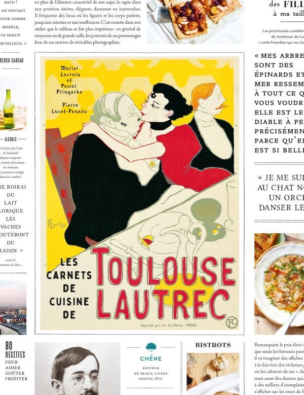 Les carnets de cuisine de Toulouse Lautrec