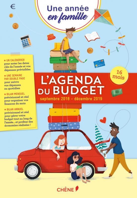 Agenda du Budget - Sept 2018/ Déc 2019 - Une année en famille