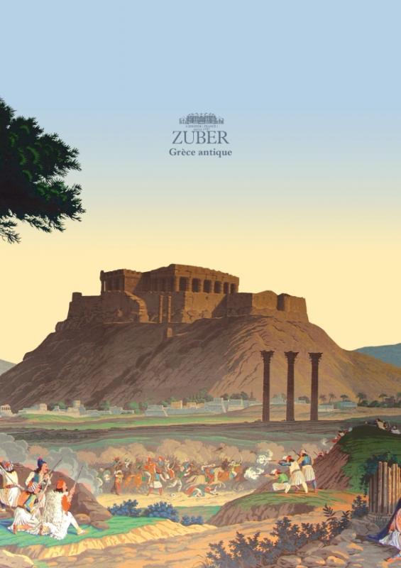 Carnet Zuber A5 -Grèce antique