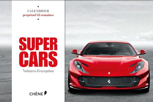 Calendrier 52 semaines - Supercars