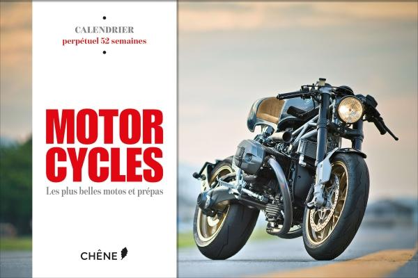Calendrier 52 semaines - Motorcycles